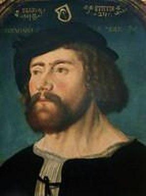 Meyer zum Pfeil - Image: Bernhard Meyer zum Pfeil (1488 1558)
