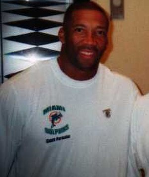 Bernie Parmalee - Pamalee as a Dolphins assistant coach in 2003