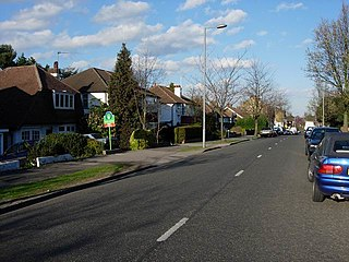 Berrylands Residential neighbourhood in the Surbiton district