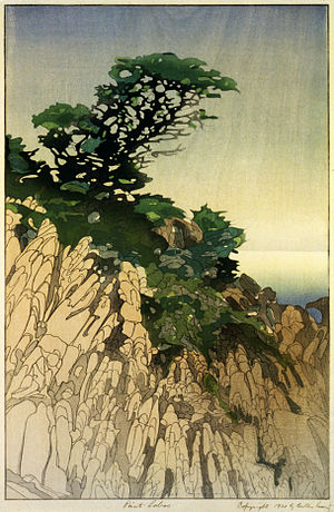Bertha Lum - Point Lobos 1920