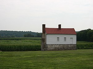 Monocacy National Battlefield - Best Farm, at Monocacy National Battlefield