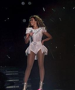 Beyonce in Berlin 2