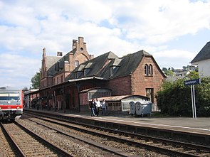 Gerolstein station, 2008