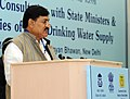 Bharatsinh Madhavsinh Solanki addressing at the National Consultations with State Ministers in charge of Rural Drinking Water Supply, in New Delhi on February 19, 2013.jpg