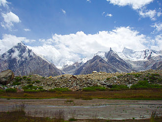 Braldu River - Image: Biafo Glacier 1