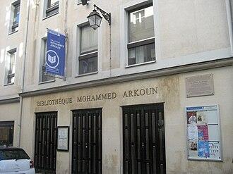 Mohammed Arkoun - Mohammed Arkoun Library, Paris