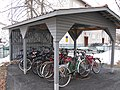 Bicycle shed.JPG