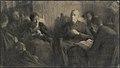 Bijbellezen, Pierre Jacques Dierckx, circa 1901 - 1947, Koninklijk Museum voor Schone Kunsten Antwerpen.jpg