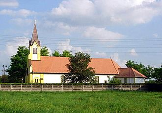 Bunjevci - The Catholic Church in the Bunjevac village of Bikovo