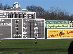 Rickwood Field - Image: Birmingham Black Baron's Left Fielder