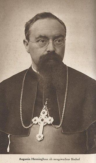 Menden - Bishop Augustin Hennighaus 1904