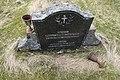 Bjarkøy kirke (church) gravstein (graveyard tombstone springtime) Bjarkøya Harstad Norway 2019-05-09 DSC00695.jpg