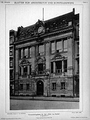 Blätter für Architektur und Kunsthandwerk, 1895, Tafel 9
