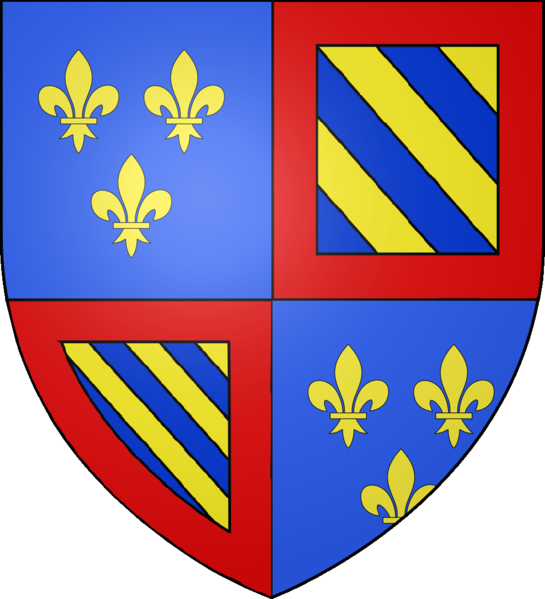 File:Blason Louis de-France duc Bourgogne.png