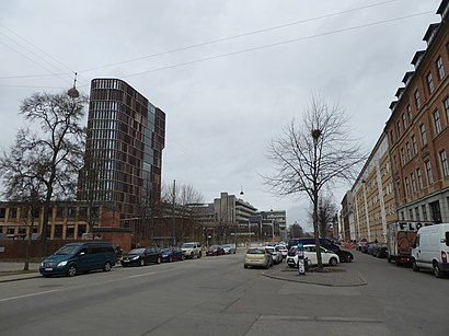 How to get to Blegdamsvej with public transit - About the place