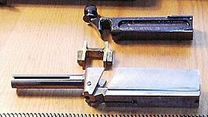 "Blish lock - Thompson M1928A1 bolt group with ""H"" type Blish-Lock piece"