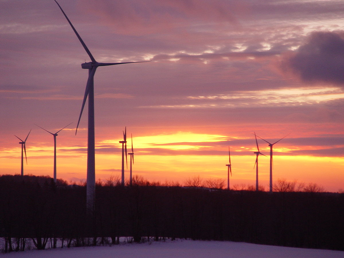 bliss wind farm