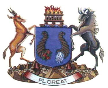 Coat of arms of Bloemfontein