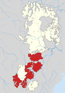 Blue mountains national park wikipedia the blue mountains national park shaded in red as part of the larger greater blue mountains world heritage area gumiabroncs Gallery