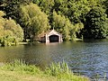 Boat House About 500 Yards East South East Of Burghley House.jpg