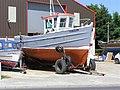Boat repair yard, Greencastle, Co. Donegal (1) - geograph.org.uk - 1124255.jpg