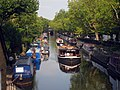 Boats on the Regents Canal, Paddington - geograph.org.uk - 1495350.jpg
