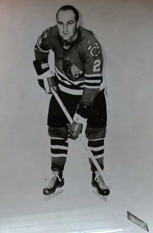 Bob Turner (ice hockey) - Image: Bob Turner Blackhawks