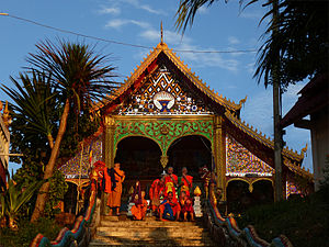 Bokeo Province - Image: Bokeo Huay Xai Vat Chom Khao Manilat 2 tango 7174