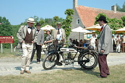 Historical reenactment - museum events bring life as it was 100 years ago.