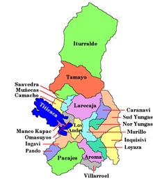 province del dipartimento