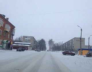Bolokhovo Town in Tula Oblast, Russia