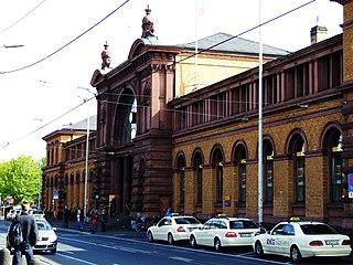 Bonn Hauptbahnhof station in Bonn