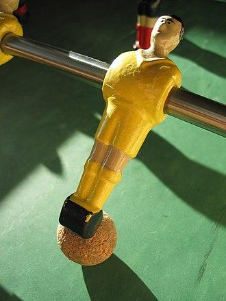 Table football - Ball control
