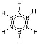 Struktur von Borazin