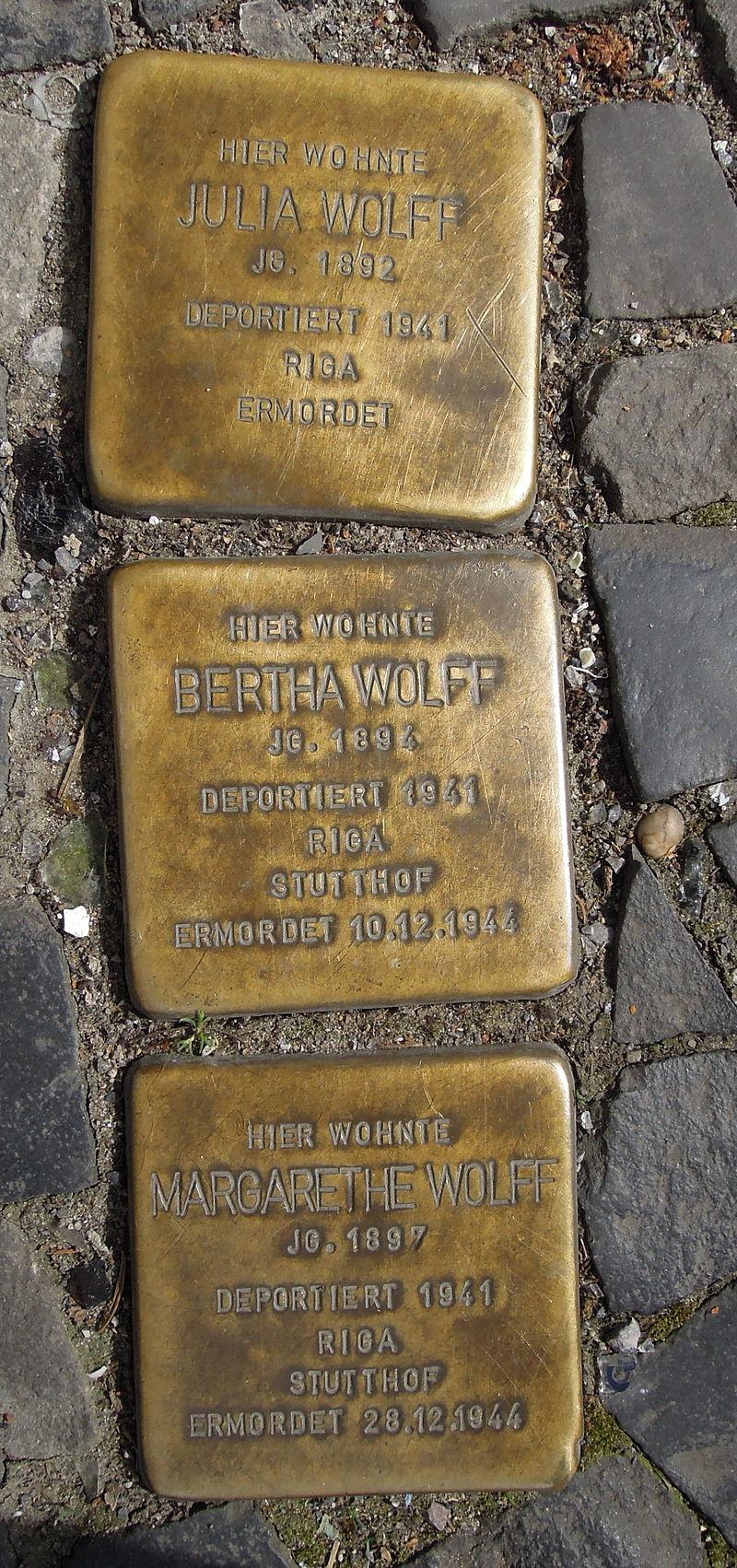 Borkener Str 17 Steine Wolff