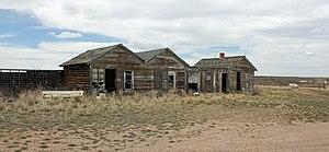 Bosler, Wyoming - Some old buildings along U.S. Route 30 in Bosler.