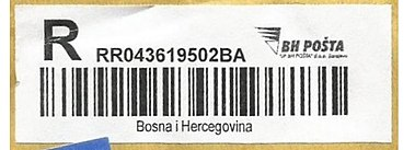 Bosnia & Herzegovina stamp type PO-A2 Reg label.jpg
