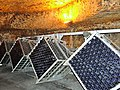 Bottles of Burgundy wine stored in an old underground quarry (cave de Bailly Lapierre) (3).jpg