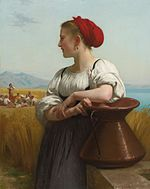 Bouguereau, La Moissonneuse, 1868.jpg