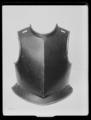 Bröstharnesk, kyrass. 1600-talets första hälft - Livrustkammaren - 62196.tif