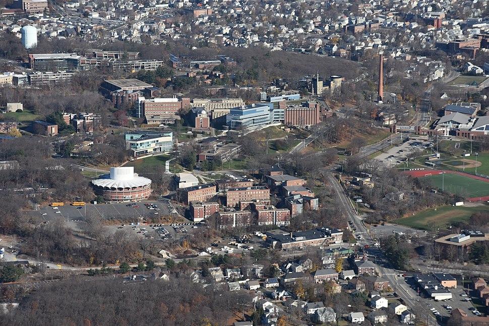 Brandeis University aerial 2