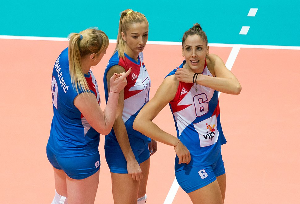 Brankica Mihajlović-Ana Antonijević-Tijana Malešević (team Serbia, 2017)