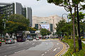 Bras Basah Road, School of the Arts and Rendezvous Hotel, Singapore - 20100316.jpg