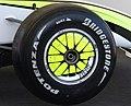 Brawn Mercedes BGP 001 wheel (3724660461).jpg