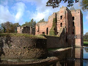Van Brederode - Picture of Castle Brederode, in Santpoort-Zuid.
