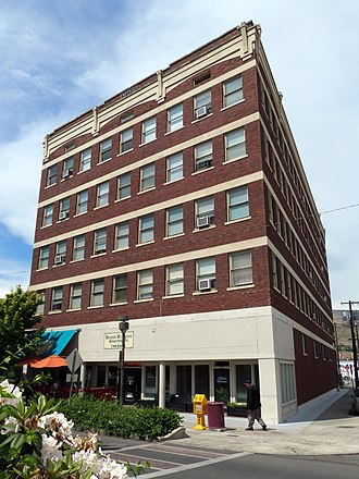 National Register of Historic Places listings in Nez Perce County, Idaho - Image: Breier Building Lewiston Idaho