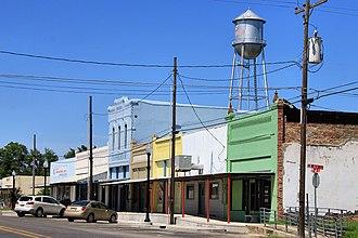 Bremond, Texas - Downtown Bremond (2015)
