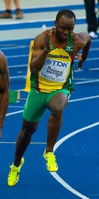 Brian Dzingai - Brian Dzingai at the 2009 World Championships in Berlin