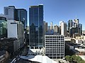 Brisbane CBD seen from the clock tower at the Brisbane City Hall 01.jpg