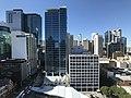 Brisbane CBD seen from the clock tower at the Brisbane City Hall 01.jpg